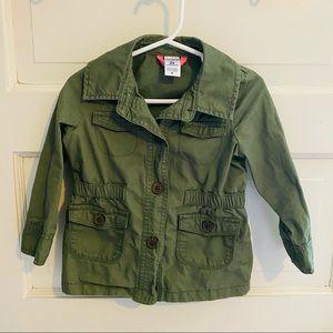 Toddler Hunter Green Utility Jacket